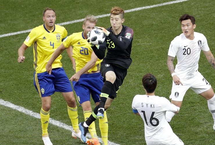 Fudbalska reprezentacija Švedske, Fudbalska reprezentacija Južne Koreje