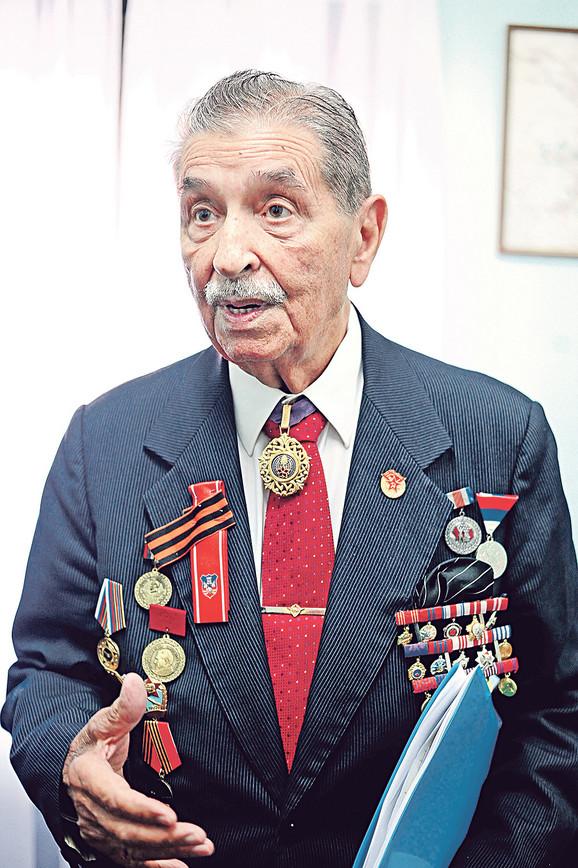 Zlatko Duplančić oslobađao je Beograd i u njemu, evo, proslavio 90. rođendan
