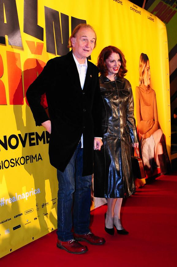 Svetozar Cvetković i Jelena Đokić