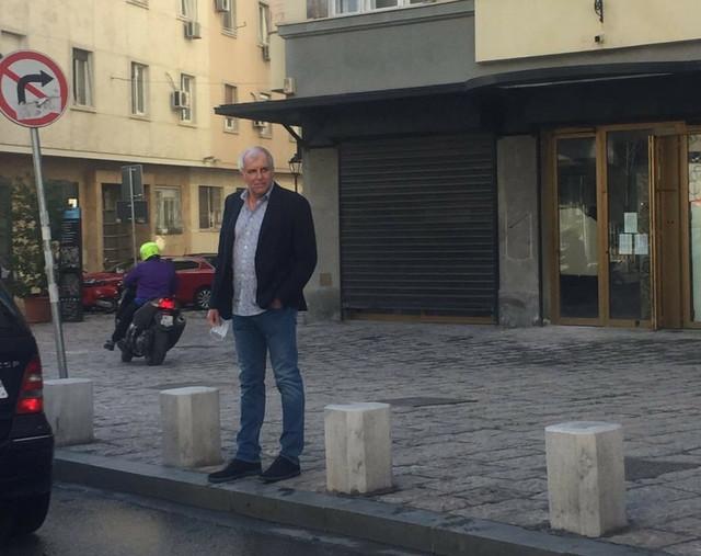 Najuspešniji trener u istoriji Evrolige, Željko Obradović, u blizini Kosančićevog venca