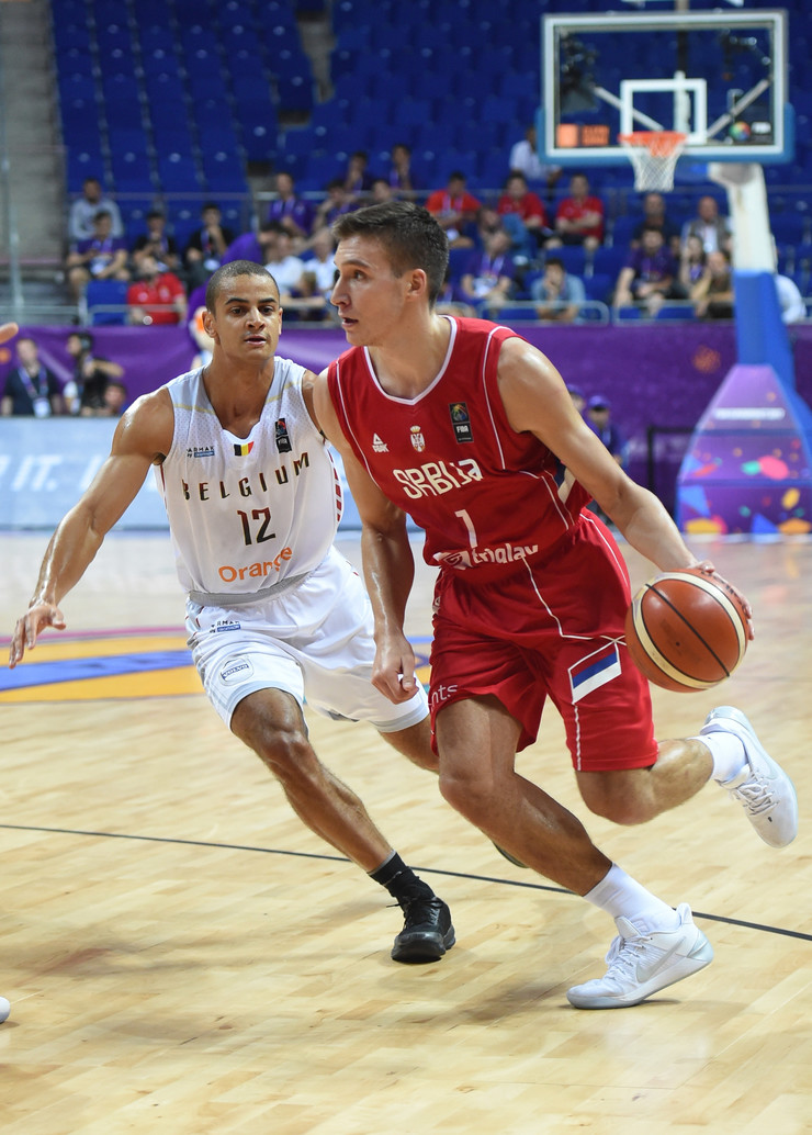 Košarkaška reprezentacija Srbije, Košarkaška reprezentacija Belgije