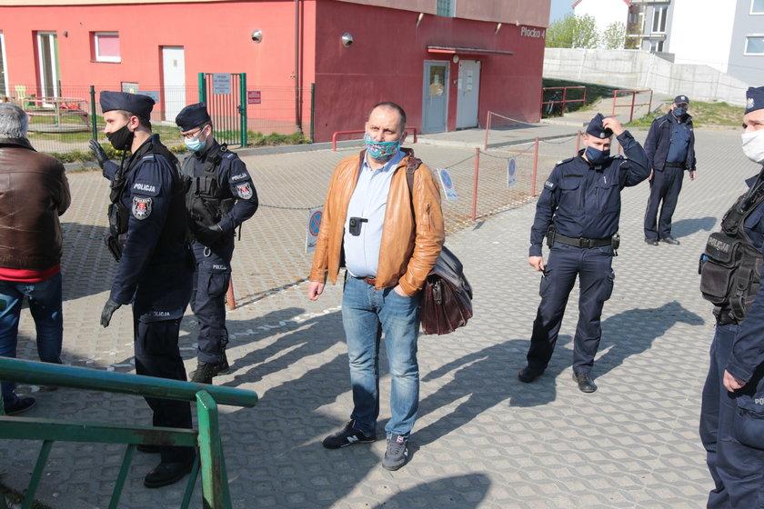 """Odwołany zarząd SM """"Ujeścisko"""" nie zgodził się z decyzją rady nadzorczej i wezwał policję"""