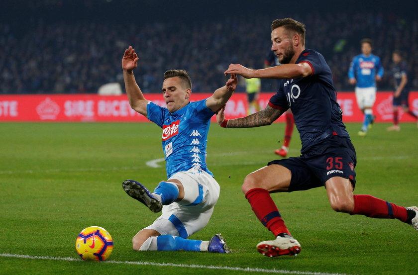 Serie A - Napoli v Bologna