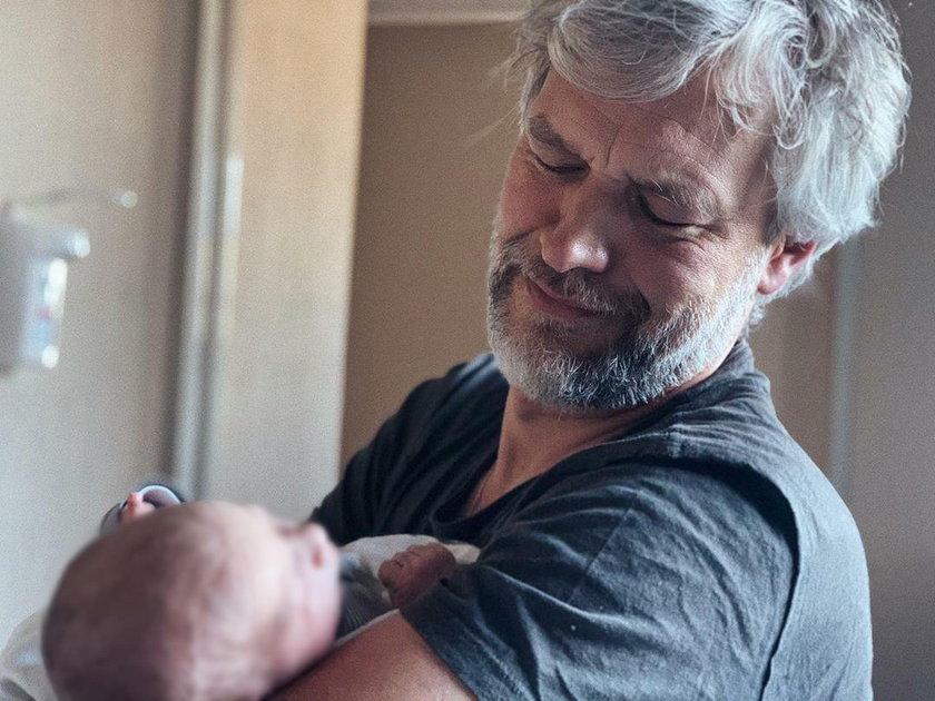 Michał Żebrowski pokazał zdjęcie dziecka