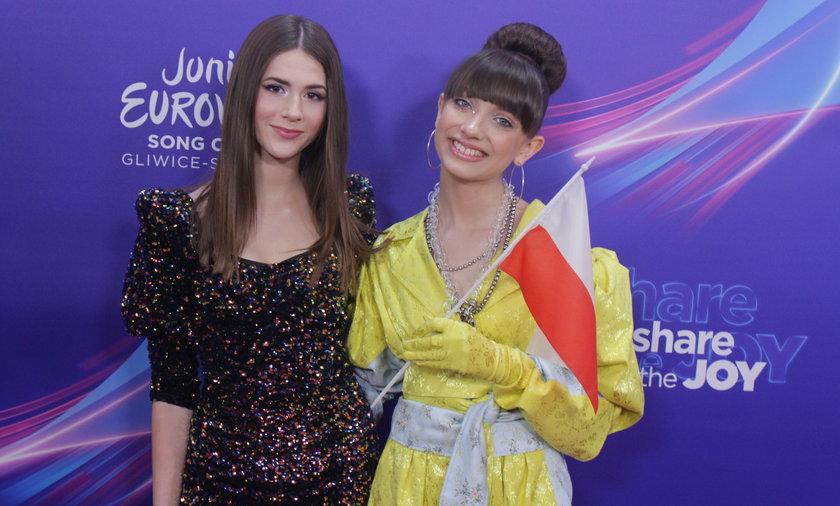 Wiktoria Gabor i Roksana Węgiel