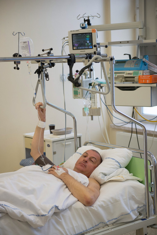 Prezydent Wrocławia w szpitalu