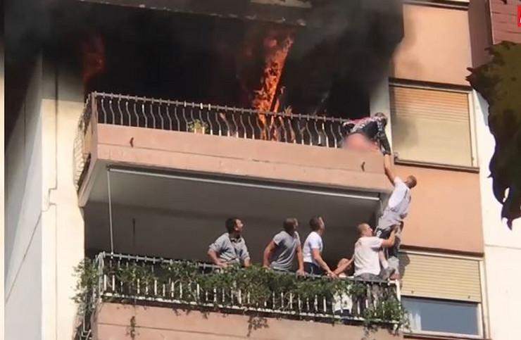 Heroji uspeli da izvzku Minju iz stana u plamenu, ali je devojčica nakon mesec dana borbe za život preminula