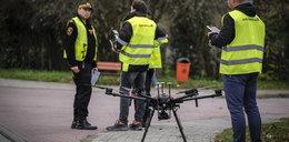 Strażnicy z dronem walczą ze smogiem