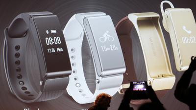 Halb Headset, halb Tracker: Huawei stellt TalkBand B2 vor