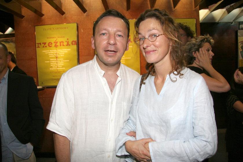Aleksandra Justa i Zbigniew Zamachowski
