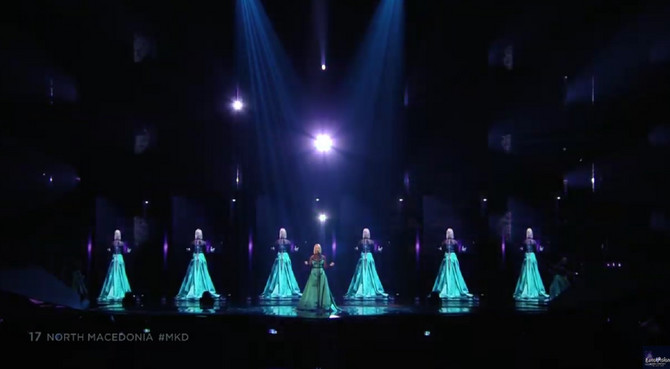 Tamara Todevska na Evroviziji