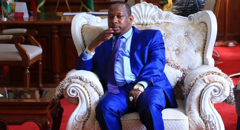 Governor Sonko speaks for the first time after being Impeached