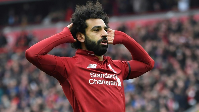 Silencing the critics: Mohamed Salah scored a stunning goal as Liverpool beat Chelsea 2-0