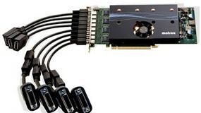 Matrox przebija AMD: karta graficzna na osiem monitorów