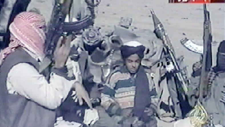 Zdjęcie Hamzy bin Ladena z 2001 roku