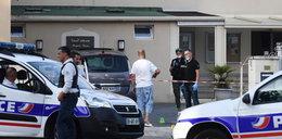 Atak przed francuskim meczetem