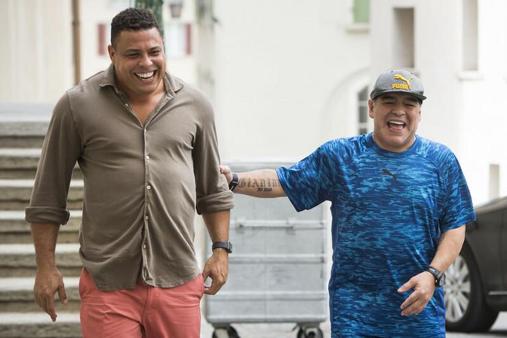 Maradona i Ronaldo