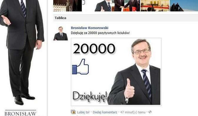 Prezydent wygłupił się na Facebooku