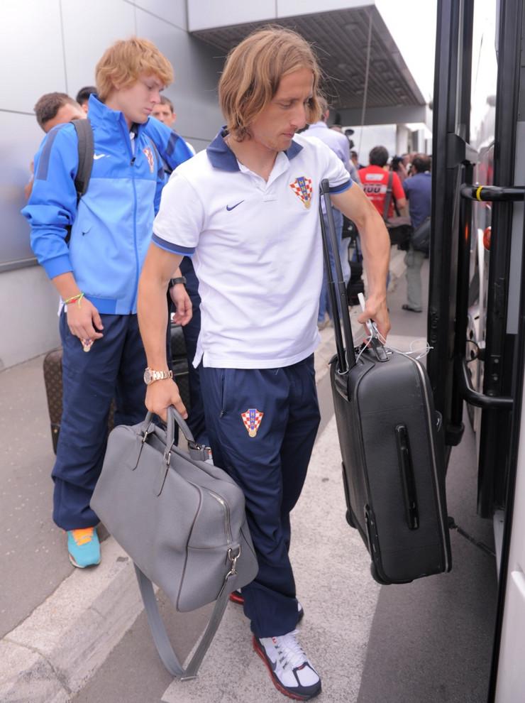 Alen Halilović, Luka Modrić