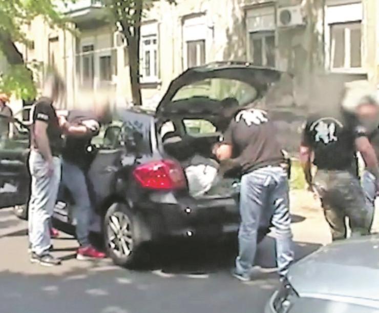 zemun hapsenje dilera02a printscreen MUP Srbije