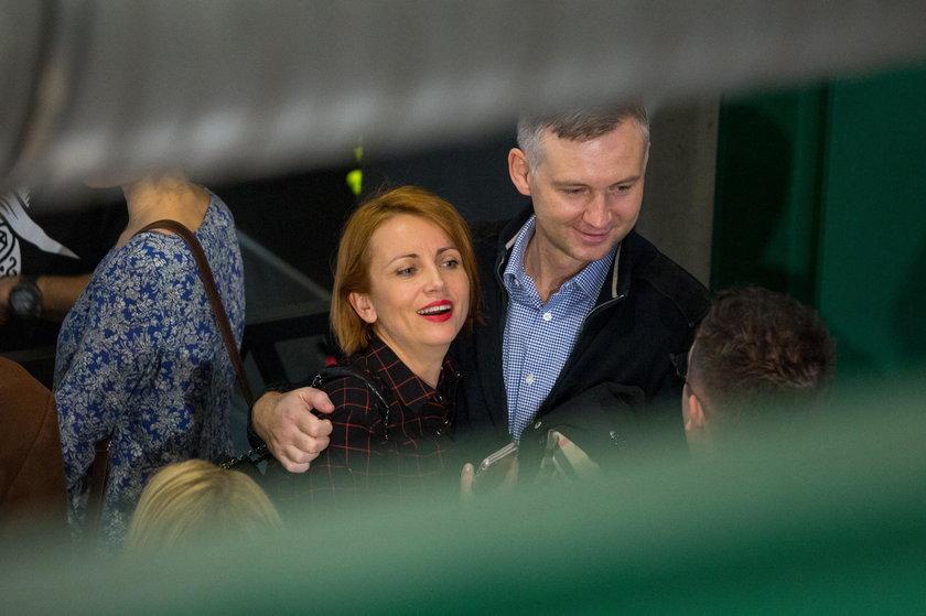 Katarzyna Zielińska z mężem