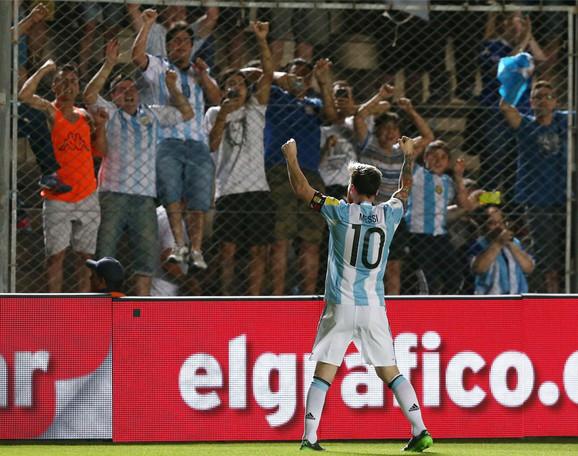 Lionel Mesi u dresu reprezentacije