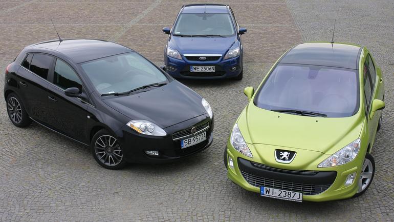 Fiat Bravo kontra Peugeot 308 i Ford Forcus - tanie, oszczędne, czy także trwałe?