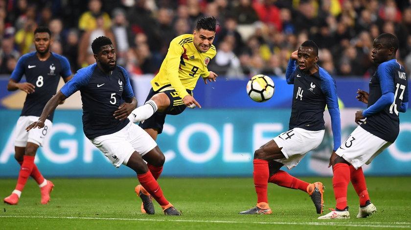 Francja vs Kolumbia