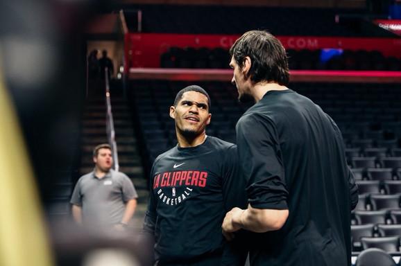 Tobajas Heris i Boban Marjanović, najbolji NBA drugari koji od ove jeseni više neće igrati zajedno jer je Bobi prešao u Dalas