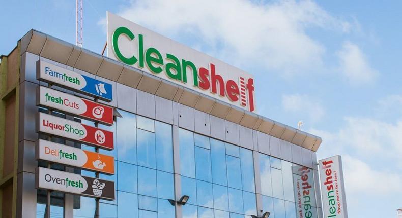 Cleanshelf supermarket