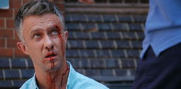 """Dramat Płoszajskiego w """"Pierwszej miłości"""". Zaleje się krwią!"""