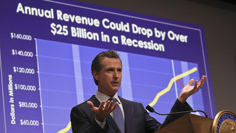 Newsom's first budget calls for big spending and paying down debt
