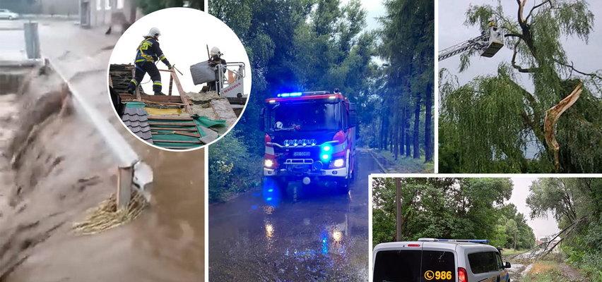 Nocny horror! Powodzie, powalone drzewa, łzy zrozpaczonych ludzi. A to nie koniec! Dziś potężne burze wrócą razem z trąbą powietrzną