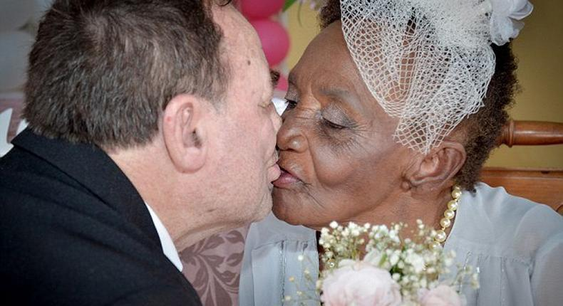 Love is ageless; this picture shows that