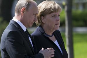 Merkelova razgovarala sa Putinom o rešavanju sukoba u Siriji i situaciji u Ukrajini