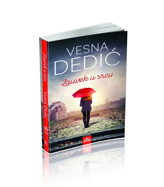 """Roman Vesne Dedić """"Zauvek u srcu"""" uz """"Blic ženu"""" za samo 299 dinara"""