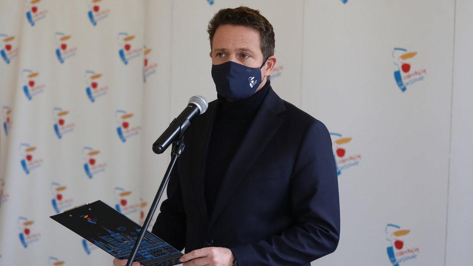 Rafał Trzaskowski podsumował ostatnie dni epidemii koronawirusa w Warszawie