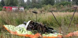 Dlaczego motolotniarz zginął pod Łomżą?