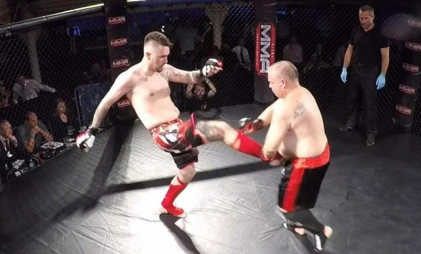 Szok! Ojciec małej Madzi wyjechał do Anglii i... walczy w MMA!