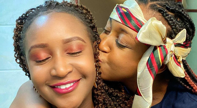Betty Kyallo finally quashes beef with sister Mercy, spends weekend at her place (Video)