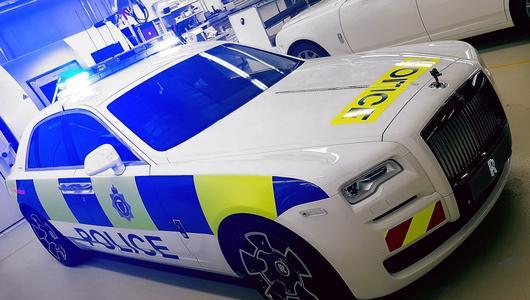 Rolls-Royce w policyjnych szeregach