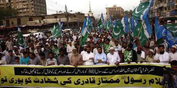 Protest w Pakistanie