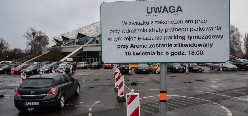 Koniec parkowania pod Areną