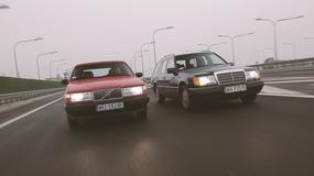 Mercedes S124 kontra Volvo 740 kombi - które klasyczne kombi jest lepsze