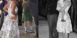 Beyonce i Blue Ivy w tej samej sukience