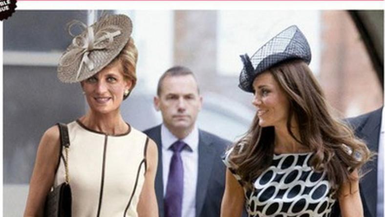 Ikony stylu: księżna Diana i księżna Catherine na okładce magazynu Newsweek.