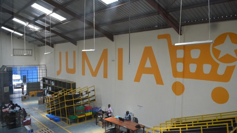 Jumia warehouse in Lagos Nigeria