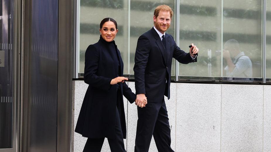 Meghan Markle i książę Harry odwiedzili Nowy Jork