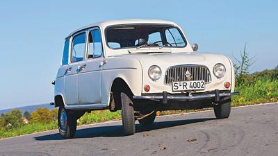 Renault R4 - klasyk, który wyprzedził Golfa
