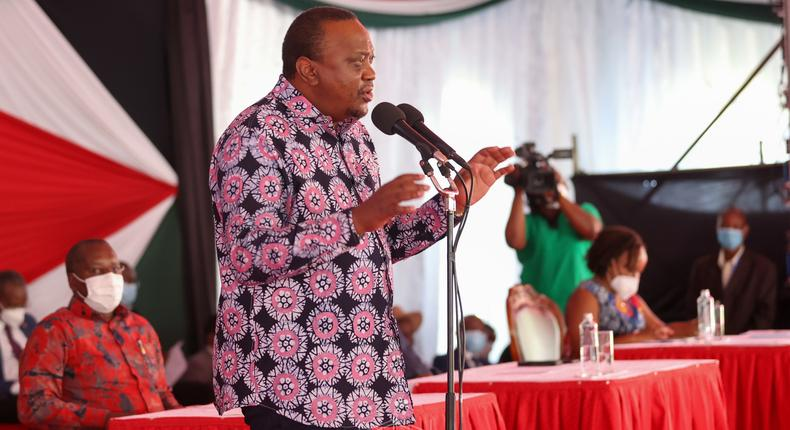 I only have a covenant with the People of Kenya – Uhuru Kenyatta